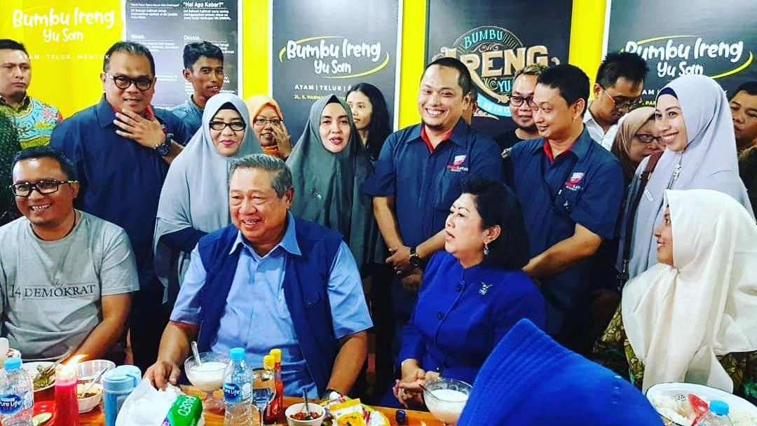 SBY Makan Di Bumbu Ireng Yu San